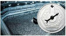 Niger 2012 1000 Francs MAGNETIC MECCA COMPASS 50g Silver Coin MINTAGE **1434**