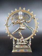 Shiva Göttin des Tanzes Indien,26 cm Figur bronziert,Veronese Kollektion,Neu