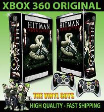 XBOX 360 Hitman Absolution console AGENTE Serpente Adesivo Skin NUOVI E 2 SKIN Pad