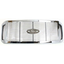 NEW CHROME GRILLE FITS 2006-07 FORD F-250 F-350 F-450 F-550 SUPER DUTY FO1200459