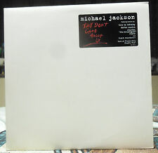 "Michael Jackson ""They Don't Care About Us"" Special Promo-Only Double Vinyl NM"