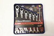 GearWrench 7 Pc Metric Ratcheting Combination Flex Head Wrench Set! #9900