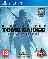 Rise of the Tomb Raider 20 Year Celebration - Art book Edition PS4