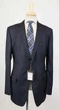 NWT. ERMENEGILDO ZEGNA Couture Navy Blue Wool 2 Button Suit 56/46 L Drop 8 $5395