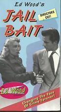 Jail Bait BRAND NEW! (VHS TAPE) ED WOOD CLASSIC  LYLE TALBOT DOLORES FULLER