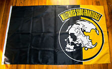 MSF Patch Metal Gear Solid Flag Militaires Sans Frontieres Peace Walker Flag