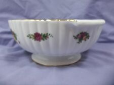 "Royal Albert Old Country Rose Fluted 9"" Serving Bowl"