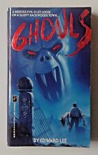 Ghouls by Edward Lee (1988, Paperback, Pinnacle) 1st edition horror