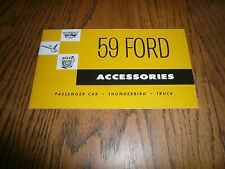 1959 Ford Genuine Accessories Sales Brochure