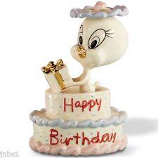 Lenox TWEETY'S Happy BIRTHDAY Cake Figurine CAKE TOPPER Bird   NEW IN BOX COA