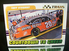 Parallel Tony Stewart #20 Home Depot Traks GOLD 2007 Card G61 COUNTDOWN TO GREEN