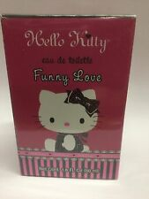 FUNNY LOVE BY HELLO KITTY 1.6 OZ EDT SPRAY PERFUME NEW AND SEALED.