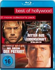 RITTER AUS LEIDENSCHAFT (Heath Ledger) + DER PATRIOT (Mel Gibson) 2 Blu-ray Disc