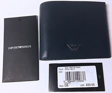 Armani Wallet Emporio two fold Dark blue