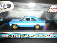 Greenlight Ford Escort RS2000 MKI 1974 by Brian Blue 1/43 Limited Edition