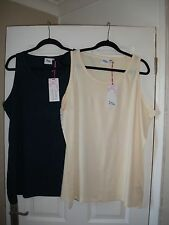 pack of 2 ladies  vest tops from Just Me size 20/22 NEW