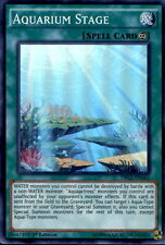 3x Yugioh DRL2-EN042 Aquarium Stage Super Rare 1st Edition Card