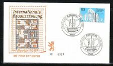 Germany Berlin 1987 FDC cover Sc 9N540 Mi 785 International Exhibition