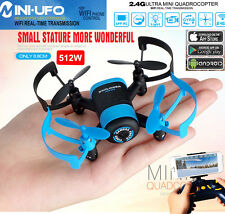 JXD 512W Upgraded WiFi FPV 4CH 6Axis GYRO MINI UFO RC Quadcopter Drone HD Camera