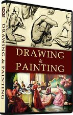 45 Drawing Books Beginners Sketching & Painting Cartooning Learn How to draw DVD