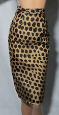*BOTTOM ~MATTEL BARBIE DOLL MODEL MUSE URBAN JUNGLE PRINT PENCIL SKIRT ACCESSORY