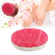 Hot Foot Grinding Stone Scrub Pedicure Exfoliate Feet Care Cuticle Remover Tool