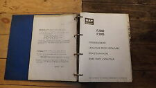DAF.F2000.F2005.Spare parts catalogue.Original in folder.