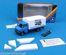 Herpa H0 MB T2 LKW Hannover Messe 1988 + Puzzle Sondermodell 88 OVP HO 1:87 Box