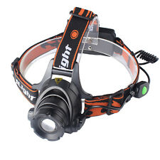Zoom In/Out 3000LM XML XM-L T6 LED Headlamp Headlight Lamp Light Switch On-Line