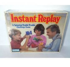 Vintage Instant Replay Parker Brothers Game 1987 Boardgame Puzzle