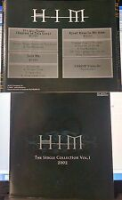 Him - The Single Collection Vol. 1 (CD, 2002, AGAT Company Ltd., Russian? INDIE)