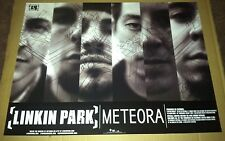 LINKIN PARK 2003 DOUBLE SIDED PROMO POSTER For Meteora CD MINT USA 24 x 18