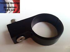 Fixation durite simple, diam int: 24 mm, aluminium noir, VENDEUR FRANCAIS