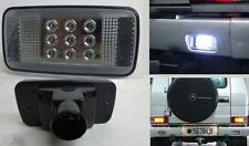 White LED Rear Bumper reverse lamp Smoked Fits Mercedes Benz G Class w463