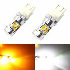 JDM ASTAR 4157NA PX SMD LED Switchback High Power White Yellow Turn Signal Light
