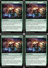4x EMRAKUL'S INFLUENCE Eldritch Moon MTG Green Enchantment Unc