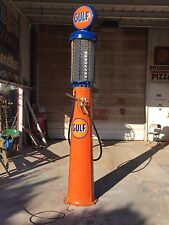 Vintage GULF Visible Gravity Flow 10 Gallon Butler Model 30 Gas Pump