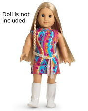 NEW AMERICAN GIRL DOLL JULIE'S DISCO DANCE FUNKY FLOWER OUTFIT SPECIAL EDITION