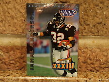 2000  JAMAL ANDERSON Starting Lineup SLU Card Atlanta Falcons Classic Double