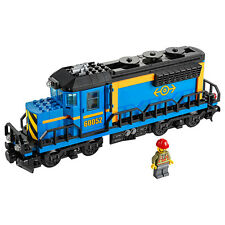 Lego City Freight Blue Railway Engine/Locomotive from Cargo Train (60052) NEW