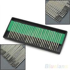 30pcs Diamond Burr Bits Drill Kit For Engraving Carving Rotary Tool Set