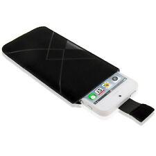 Funda Samsung Galaxy Ace 2 I8160 S5830 OX NEGRA Aterciopelada