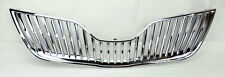 Toyota Camry 10-11 Vertical Chrome Grill Replacement Front Hood Bumper