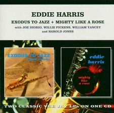 Eddie Harris  EXODUS TO JAZZ + MIGHTY LIKE A ROSE