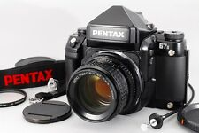 【MINT】PENTAX 67 II AE Finder + SMC 67 105mm F2.4 Late Model Lens From Japan 414
