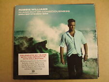 2-CD / ROBBIE WILLIAMS - IN AND OUT OF CONSCIOUSNESS - GREATEST HITS 1990-2010