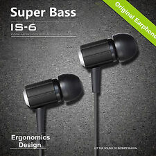 Kopfhörer Headset Ivory IS-6 Super Bass In-Ear in schwarz OVP