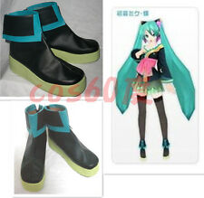 Vocaloid Hatsune Miku Cospaly Boots Shoes S008