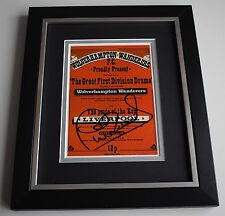 Phil Neal SIGNED 10X8 FRAMED Photo Display Liverpool 1976 League Champions & COA