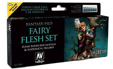 Fairy Flesh Tones: 8 Paint Set for Fantasy Game Figures (Vallejo 74101)